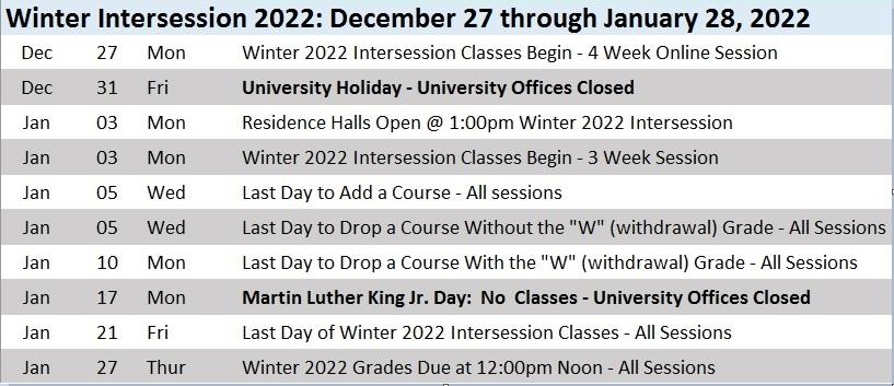 Uconn Spring 2022 Calendar.2021 2022 Academic Calendar Roger Williams University Acalog Acms